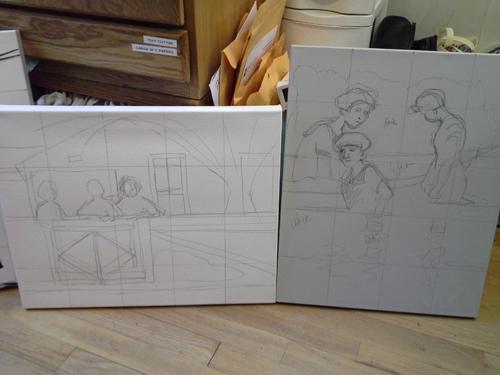 6 painting series 3