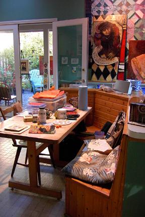 Lynette's Work table